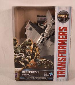 Transformers The Last Knight Premier Edition Voyager Decepticon Nitro
