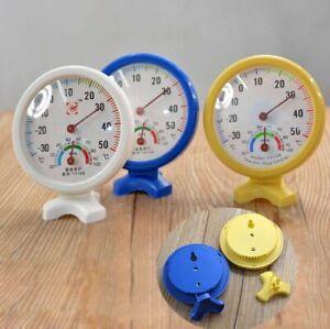 New Hygrometer Meter Temp/Temperature Indoor Outdoor Wet Humidity Thermometer