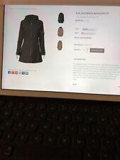 ILSE Jacobsen Raincoat07 Black NWT 42/10