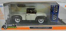 1:24 JADA TOYS *JUST TRUCKS w/EXTRA WHEELS* Brown & Tan 1953 Chevy Pickup NIB!