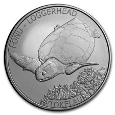 SKU#170628 2019 Tokelau 1 oz Silver Proof Year of the Pig Mirror Pig