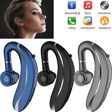 Bluetooth Headset Wireless Stereo Earpiece For Women Men iPhone Nokia Huawei LG