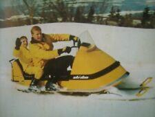 1968 Vintage BOMBARDIER SKI DOO Snowmobile Brochure