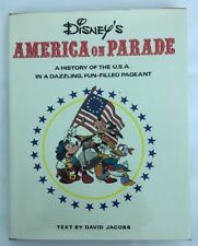 Disney's Bicentennial America On Parade Illustrated 1975 Book Very Good cond