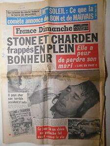 1973 SHEILA,STONE/CHARDEN,DALIDA,LIZ+BURTON+R.WELCH,J.RICHARD &+ FRANCE DIMANCHE