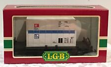 LGB G Scale Train 4003 Flat Car w/Hamburg Port Removable Container Bimodal EX LN