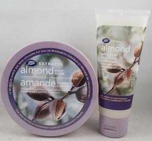 Boots Almond Body Scrub 200ml + Body Wash 75ml