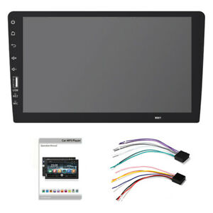 9in HD Car FM Radio Stereo In Dash MP5 Player Single DIN Touch Screen Bluetooth