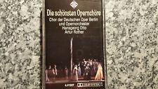 Musikkassette Die schönsten Opernchöre - Album