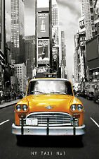 """NEW YORK YELLOW TAXI Large Canvas Print  A1 30"""" x 20"""""""