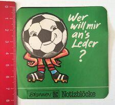 Aufkleber/Sticker: Brunnen TH Notizblöcke - Wer Will Mir An's Leder? (200316124)