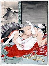 """SHUNGA"" XXX""#4 A   REPRINT OF EROTIC  PAINTING MEIJI PERIOD +"