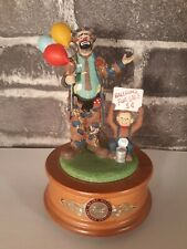 Emmett Kelly Balloons For Sale 1596 Ea Collector's Limited Edition Music Box (G2