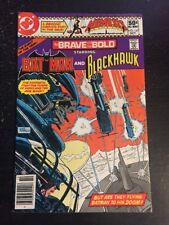 The Brave And The Bold#167 Awesome Condition 8.0(1980) Blackhawk!!