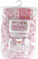 Casdon BABY HUGGLES CHANGING MAT SEAT Role Play Doll Accessory Toy/Gift  BN