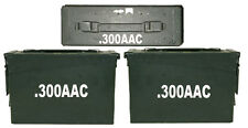 """300 AAC Ammo Box(decals) Two 8""""x1.5 One 4""""x0.75"""" No Box Included"""