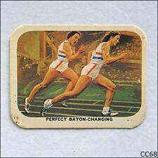 Vita-Brits VII Commonwealth Games Perth #13 Baton 1962 Cereal Card (B) (CC68)