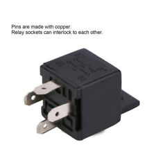 1x 4 Pin 12V 30A Auto Power Relay For Air Horns Car Boat Van Motorbike Truck AMS