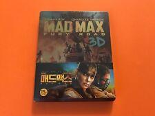 Mad Max Fury Road 2D/3D 1/3 Slip Blu-Ray Steelbook Edition Nova Media #028/400