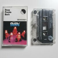 DEEP PURPLE BURN CASSETTE TAPE EMI PURPLE UK 1974