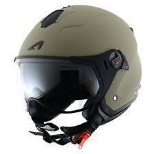 Astone MINISPORT Marxl Helmets-casco Jet Mini Sport Matt Army Taglia XL