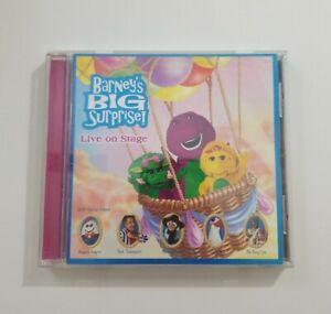 Barneys Big Surprise Live on Stage CD 1998 Lyrick