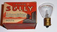 Ampoule de phare Sully 12 volts 50 watts à culot B15 2 ergots années 35/50 RARE