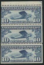 *C10 BOOKLET PANE OF 3, NH, SCOTT $120