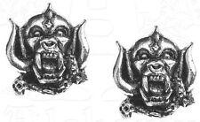 MOTÖRHEAD War Pig Snaggletooth STUD EARRINGS OHRRINGE OHRSTECKER OFFICIAL MERCH
