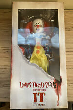 Mezco Living Dead Dolls Presents It (2017) Pennywise Doll *New ~ Factory Sealed