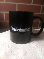 Timberland Work Boots Logo. Black Coffee Mug / Tea-Cup.