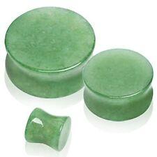 Jade Stone Body Piercing Jewellery Lobe