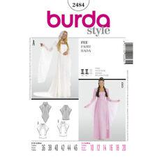 BURDA SEWING PATTERN 2484 MISSES MEDIEVAL WEDDING GOWN BRIDESMAID COSTUMES 10-20