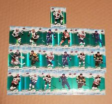 2018-19 UD Ice Green Parallel Lot Of 19 Cards SP