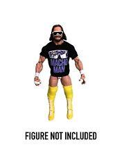 WWE Macho Man Randy Savage Custom Shirt For Mattel Figures..