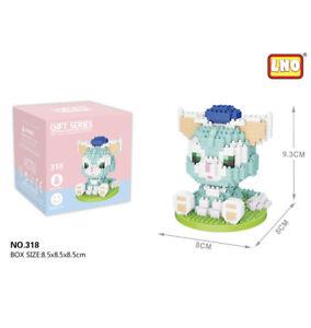 Disney Gelatoni Cat 400pcs Nano Blocks