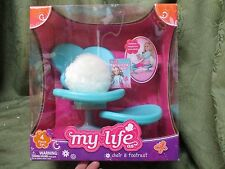 "My Life As 18"" Doll Accessories Chair & Footrest  Foot Rest Fashon Mag Relax New"