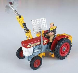 VINTAGE 1970s CORGI 73 MASSEY-FERGUSON 165 TRACTOR WITH SAW *VN MINT CONDITION*