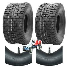 GoKart 2x Reifen + 2x Schlauch 16x6.50-8 für Tret Go Kart von z.B. Dino,Berg TOP