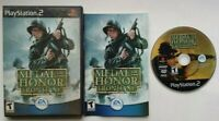 Medal of Honor Frontline PlayStation 2 PS2 Complete Game Works Tested -Very Good