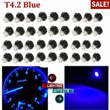 50x T4.2 1SMD Blue LED Bulb Instrument Wedge Lights Panel Gauge Dashboard Lamps