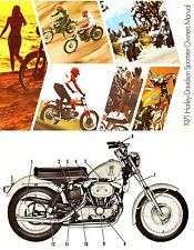1971 HARLEY-DAVIDSON XLH883 & XLCH883 SPORTSTER OWNERS MANUAL -XLH-XLCH-883