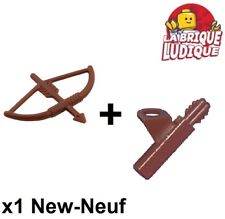 Lego 1x lot minifig arme weapon arc flèche corde bow arrow quiver 4498 4499 NEUF