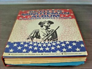 US, includes BOB, Revenues, 100s of Stamps hinged in a Scott Minuteman album
