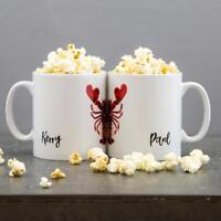 Personalised Lobster Heart Mug | Ideal Gift Present for Him Her Friend Couple