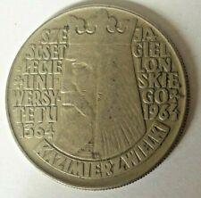 10 zlotych 1964 Y# 52.1 & Y#52.2 Kazimierz Wielki Poland Polska