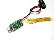 Mini Trasmettitore FM Microspia  80Mhz-118Mhz con microfono ambientale 100Mt