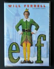 Elf DVD English Français Lutin Will Ferrell Christmas movie comedy family NEW