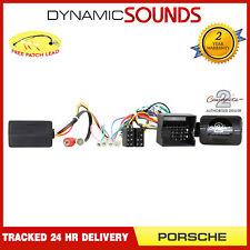CTSPO004.2 Steering AND Fibre Optic Amplifier Adaptor for Porsche 911 2010 On