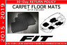 Genuine Honda Fit Hatchback Factory OEM Carpet Floor Mats 2015 - 2019